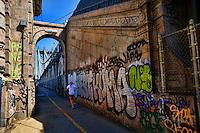Graffiti on Manhattan Bridge