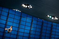 Jack Laugher of Great Britain competes in the Mens 3m Springboard Final going on to finish runner up with the Silver Medal - Mandatory byline: Rogan Thomson/JMP - 12/05/2016 - DIVING - London Aquatics Centre - Stratford, London, England - LEN European Aquatics Championships 2016 Day 4.
