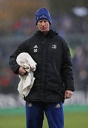 Leinster assistant coach Leo Cullen during the Heineken European Champions Cup, pool one match at The Recreation Ground, Bath. PRESS ASSOCIATION Photo. Picture date: Saturday December 8, 2018. See PA story RUGBYU Bath. Photo credit should read: David Davies/PA Wire. RESTRICTIONS: Editorial use only. No commercial use.