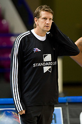 Head coach of Great Britain Chris Finch at practice  in Arena Torwar a day before the beginning of the Eurobasket 2009, on September 06, 2009 in Warsaw, Poland. (Photo by Vid Ponikvar / Sportida)