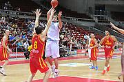 Danzica - Polonia 04 Agosto 2012 - TORNEO INTERNAZIONALE SOPOT CUP - Italia Montenegro<br /> Nella Foto : DAVID CHIOTTI<br /> Foto Ciamillo