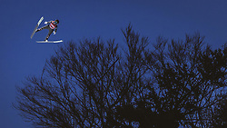 02.02.2019, Heini Klopfer Skiflugschanze, Oberstdorf, GER, FIS Weltcup Skiflug, Oberstdorf, im Bild Clemens Aigner (AUT) // Clemens Aigner of Austria during his Jump of FIS Ski Jumping World Cup at the Heini Klopfer Skiflugschanze in Oberstdorf, Germany on 2019/02/02. EXPA Pictures © 2019, PhotoCredit: EXPA/ JFK