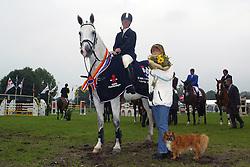Hoorn Angelique-Parodie-Van De Kraats Mw<br /> KWPN Paardendagen Ermelo 2004<br /> Photo © Hippo Foto