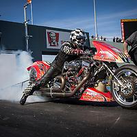 National Top Bike Champion Mark Drew (2987) on his Harley-Davidson at the Perth Motorplex.