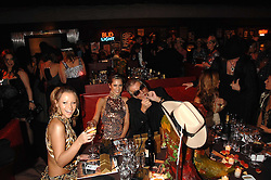 Left to right, KIMBERLEY WALSH, CHERYL COLE and ROBERTO CAVALLI at the London Red Cross Ball themed 'Honky Tonk Blues' held at 99 Upper Ground, London SE1 on 21st November 2007.<br /><br />NON EXCLUSIVE - WORLD RIGHTS