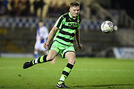 Forest Green Rovers Alex Hallett(6) during the The FA Youth Cup match between Bristol Rovers and Forest Green Rovers at the Memorial Stadium, Bristol, England on 2 November 2017. Photo by Shane Healey.