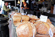 Artisan bread for sale on Northcote Road, Clapham