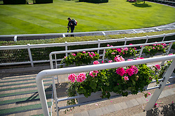 Preparations are done ahead of day five of Royal Ascot at Ascot Racecourse.