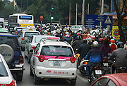 Vietnam, Hanoi, congested city centre