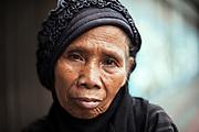 Woman in Yogyakarta city, Java, Indonesia