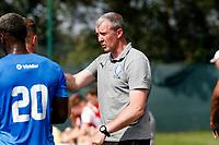 Jim Gannon. Stockport County 0-2 Fleetwood Town. Pre-Season Friendly. 15.8.20
