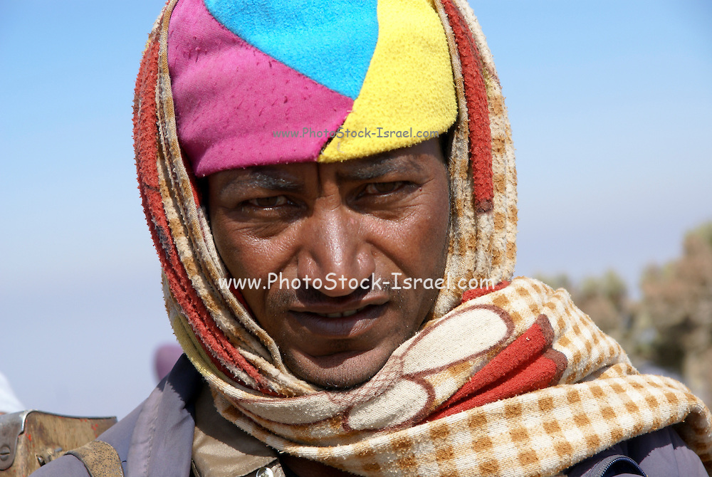 Africa, Ethiopia, Simien mountains portrait of a local man