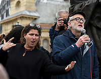 """Jeremy Corbyn tells  Kill the Bill' protesters  """"I want to live in a world of peace and justice, I want to live in a world of human rights and democracy, and I'm prepared to make people feel uncomfortable in the process.""""  Parliament square photo by Krisztian  Elek"""