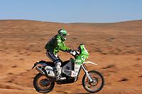 Motor<br /> Paris Dakar<br /> Foto: Dppi/Digitalsport<br /> NORWAY ONLY<br /> <br /> MOTORSPORT - DAKAR 2007 - STAGE 3 -  NADOR . ER RACHIDIA  08/01/2007<br /> <br /> MOTO - PÅL ANDERS ULLEVÅLSETER (NOR) / KTM SCANDINAVIA - ACTION