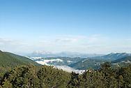 View towards Moracke planine from the Komovi mountains, Montenegro