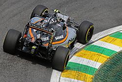 Sergio Perez (MEX) Sahara Force India F1  <br /> 11.11.2016. Formula 1 World Championship, Rd 20, Brazilian Grand Prix, Sao Paulo, Brazil, Practice Day.<br /> Copyright: Charniaux / XPB Images / action press