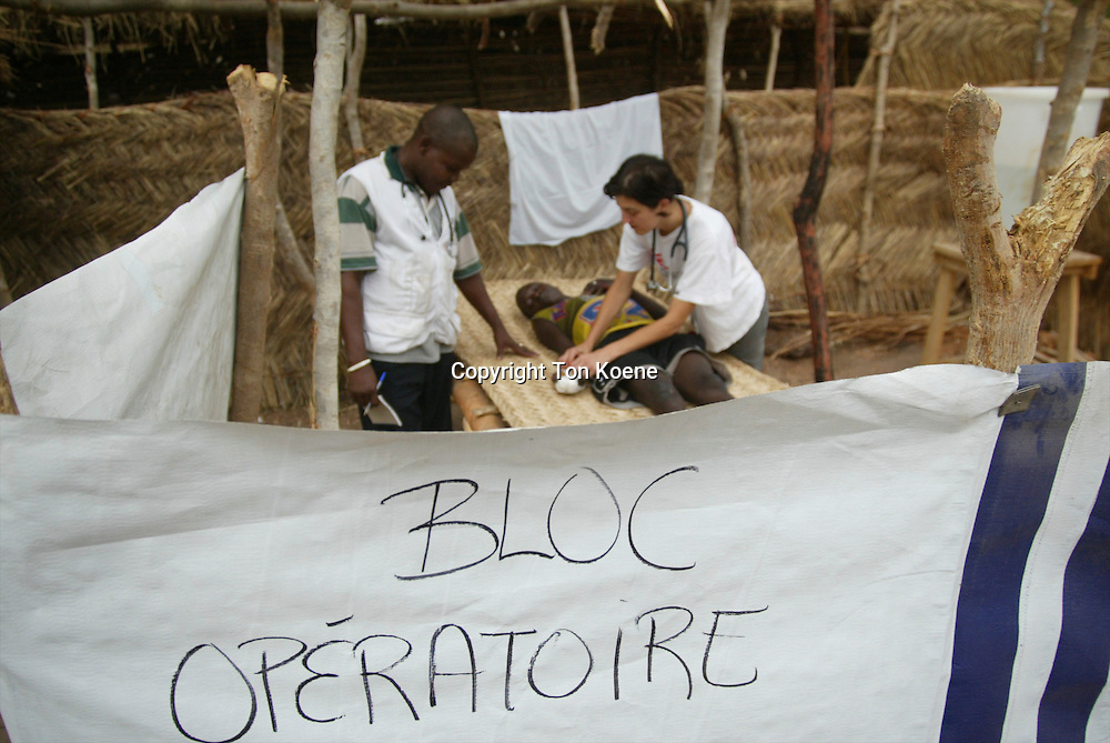 health care in Central African Republique