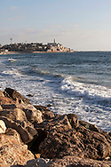 Israel, Tel Aviv: View to Jaffa from Charles Clore Park