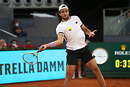 Matteo Berrettini of Italy during the Mutua Madrid Open 2021, Masters 1000 tennis tournament on May 7, 2021 at La Caja Magica in Madrid, Spain - Photo Laurent Lairys / ProSportsImages / DPPI