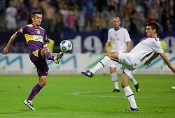 Armin Bacinovic of Maribor at Third Round of Champions League qualifications football match between NK Maribor and FC Zurich,  on August 05, 2009, in Ljudski vrt , Maribor, Slovenia. Zurich won 3:0 and qualified to next Round. (Photo by Vid Ponikvar / Sportida)