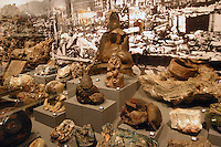 Hiroshima Peace Memorial Museum, melted items from the A- Bomb.