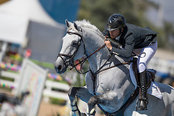 Alvarez Moya Sergio, ESP, Carlo 273<br /> owner of the horse of Jerome with arms in the air<br /> Olympic Games Rio 2016<br /> © Hippo Foto - Dirk Caremans<br /> 14/08/16