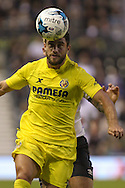 Villerreal's Bojan Jokic during the Pre-Season Friendly match between Derby County and Villarreal CF at the iPro Stadium, Derby, England on 29 July 2015. Photo by Aaron Lupton.