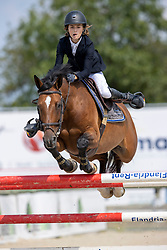 Vandecasteele Bart Jay Junior, BEL, Esprit De L'Esprit Z<br /> Belgisch Kampioenschap Jeugd Azelhof - Lier 2020<br /> © Hippo Foto - Dirk Caremans<br /> 02/08/2020