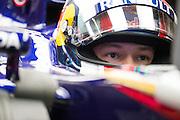 April 17, 2014 - Shanghai, China. UBS Chinese Formula One Grand Prix. Daniil Kvyat, (RUS), Toro Rosso-Renault<br /> <br /> © Jamey Price / James Moy Photography