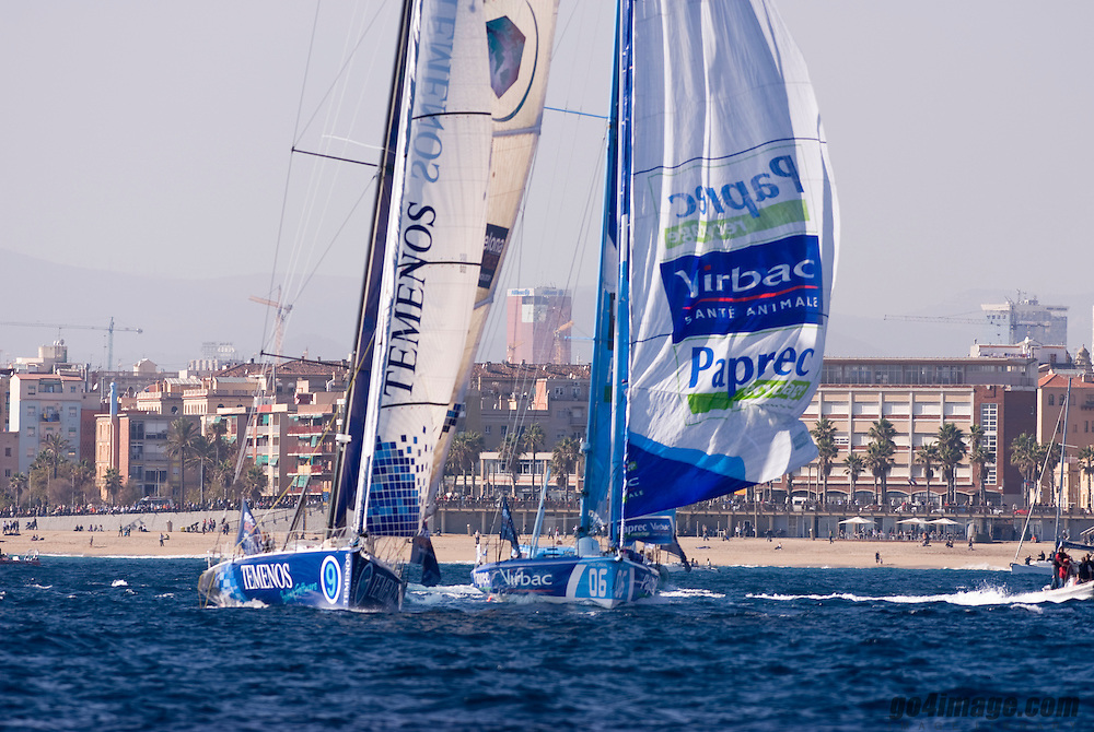 Start of the 1st Barcelona World Race