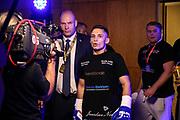 Boxen: SES-Box-Gala, Magdeburg, 11.05.2019<br /> Nenad Stancic (Team Deutschland) - Attila Csereklye (HUN)<br /> © Torsten Helmke