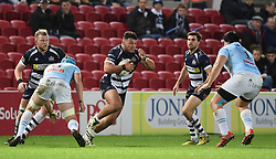 Ellis Genge, loosehead prop for Bristol Rugby - Mandatory by-line: Paul Knight/JMP - Mobile: 07966 386802 - 11/12/2015 -  RUGBY - Ashton Gate Stadium - Bristol, England -  Bristol Rugby v Bedford Blues - British and Irish Cup