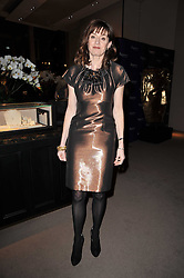 AMANDA BERRY chief executive of BAFTA at the BAFTA Nominees party 2011 held at Asprey, 167 New Bond Street, London on 12th February 2011.