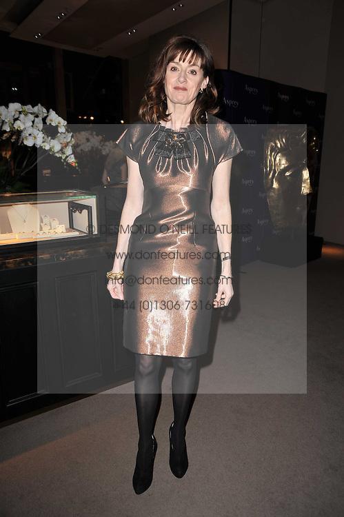 AMANDA BERRY chief executive of BAFTA at the BAFTA Nominees party 2011 held at Asprey, 167 New Bond Street, London on 12th February 2011.