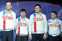 Equipe Russie - 03.05.2015 - Challenge SNCF Reseau - Coupe du Monde Epee messieurs<br />Photo : Andre Ferreira / Icon Sport