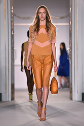 Models on the catwalk during the Jasper Conran London Fashion Week SS18 show held at Claridge's, London. Picture date: Saturday September 16th, 2017. Photo credit should read: Matt Crossick/ EMPICS Entertainment.