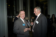 JAMES REATCHLOUS; WILLIAM CASH, Luxury Briefing Wealth Summit Conference drinks. Corinthia Hotel. Whitehall, London. 27 October 2011.<br /> <br />  , -DO NOT ARCHIVE-© Copyright Photograph by Dafydd Jones. 248 Clapham Rd. London SW9 0PZ. Tel 0207 820 0771. www.dafjones.com.