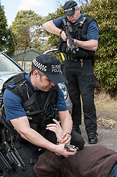 Sussex Police armed response team