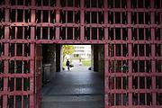 Vienna, Karl-Marx-Hof. One of the fortified steel gates.