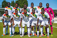 Equipe Guinee - 06.06.2015 - Guinee / Tchad - Match amical<br />Photo : Andre Ferreira / Icon Sport