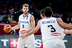 Nicolo Melli of Italy during basketball match between National Teams of Italy and Serbia at Day 14 in Round of 16 of the FIBA EuroBasket 2017 at Sinan Erdem Dome in Istanbul, Turkey on September 13, 2017. Photo by Vid Ponikvar / Sportida