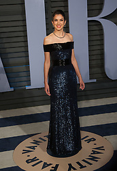 March 4, 2018 - Beverly Hills, California, U.S - Vanity Fair Editor-in-Chief Radhika Jones  on the red carpet of the 2018 Vanity Fair Oscar  Party held at the Wallis Annenberg Center in Beverly Hills,  California on Sunday March 4, 2018. (Credit Image: © Prensa Internacional via ZUMA Wire)