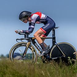 EMMEN (NED) June 16: <br />CYCLING <br />Dutch Nationals Time Trail Women Elite Devon Kuijstermans