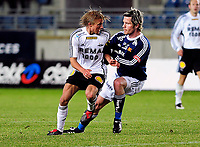 08.03.09 Fotball eliteserien (treningskamp) stavanger stadion Viking - Rosenborg<br /> Per Ciljan Skjelbred Rosenborg og Ragnvald Soma Viking