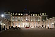 Staatsbezoek aan Frankrijk dag 1 - Staatsbanket op het Palais de l'Elysée<br /> <br /> State Visit to France Day 1 - State Banquet at the Palais de l'Elysée<br /> <br /> Op de foto / On the photo:  Palais de l'Elysée