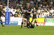 2004 Zurich Premiership Semi-Final - London Wasps v Northampton Saints  16/05/2004 <br /><br />Stewart Abbott , [Mandatory Credit: Peter Spurrier/Intersport Images],