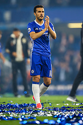 Pedro of Chelsea, Chelsea celebrate at the end of the match, final score Chelsea 4-3 Watford - Mandatory by-line: Jason Brown/JMP - 15/05/2017 - FOOTBALL - Stamford Bridge - London, England - Chelsea v Watford - Premier League