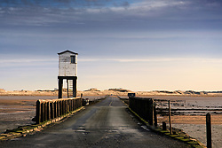 July 21, 2019 - Look-Out Tower By Bridge, Holy Island, Bewick, England (Credit Image: © John Short/Design Pics via ZUMA Wire)