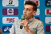 Armand Duplantis (SWE) during press conference of Meeting de Paris 2018, Diamond League, at Hotel Marriott, in Paris, France, on June 29, 2018 - Photo Jean-Marie Hervio / KMSP / ProSportsImages / DPPI