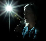 Pictured is comedian Sarah Stevens on Sunday, January 28, 2017 -- Stevens' stage name is Sarah Q. and her comedy is based around her life experiences. She esitimates about 85% of her skits are actual events that she has lived through and she does not need to exaggerate them to make them funny.
